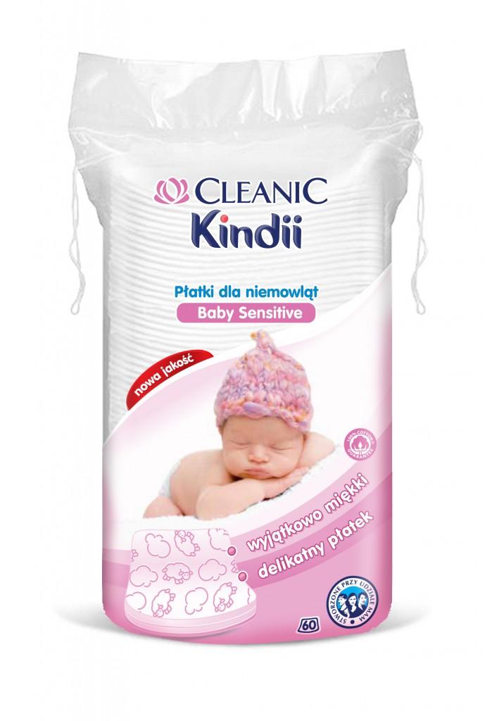 Płatki bawełniane Cleanic Kindii