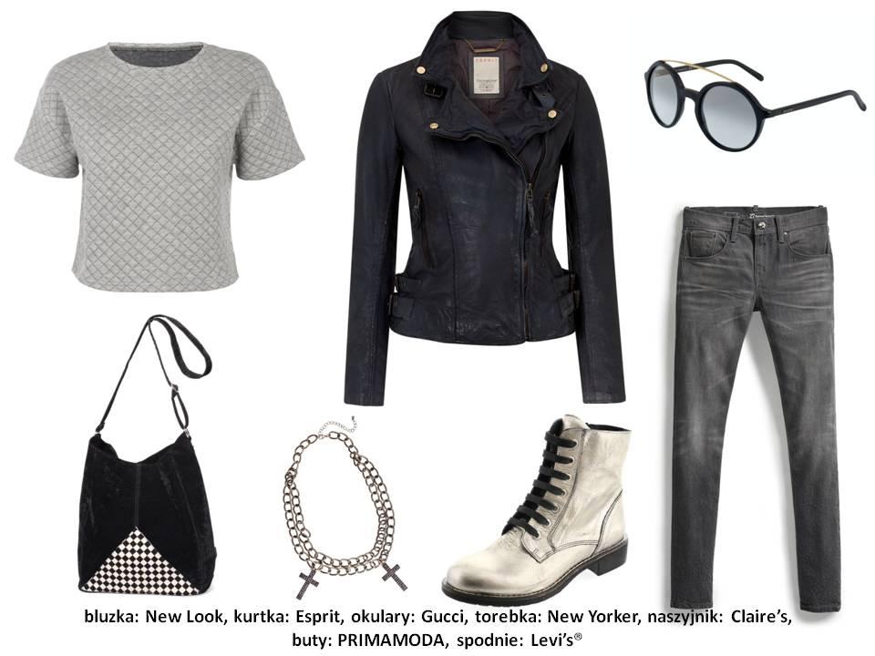 """Dzisiaj grunge?owy look to absolutny """"must"""" każdego fashionisty"""