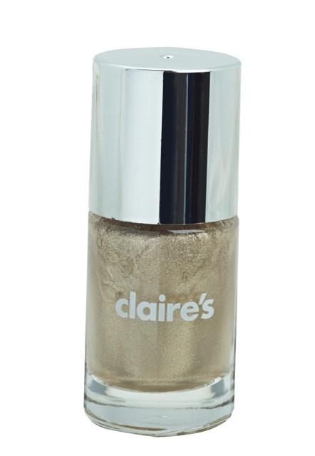 CLAIRES_AW14_Gold Metallic Nail Polish