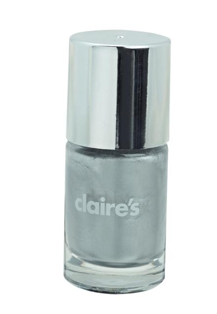 CLAIRES_AW14_Silver Metallic Nail Polish
