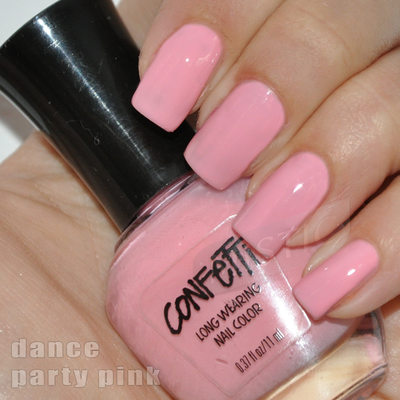 Confetti Dance Party Pink