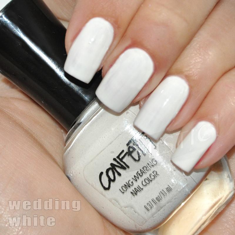 Confetti Wedding White